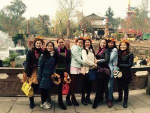 三八妇女节出游