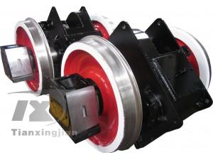 工程轨道电瓶机车用轮对齿轮箱